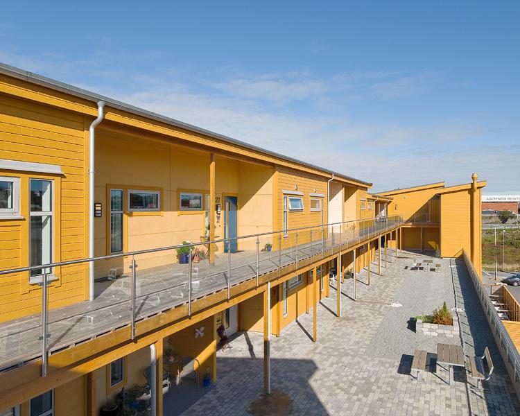 Torvhusbakkane, Ågotnes