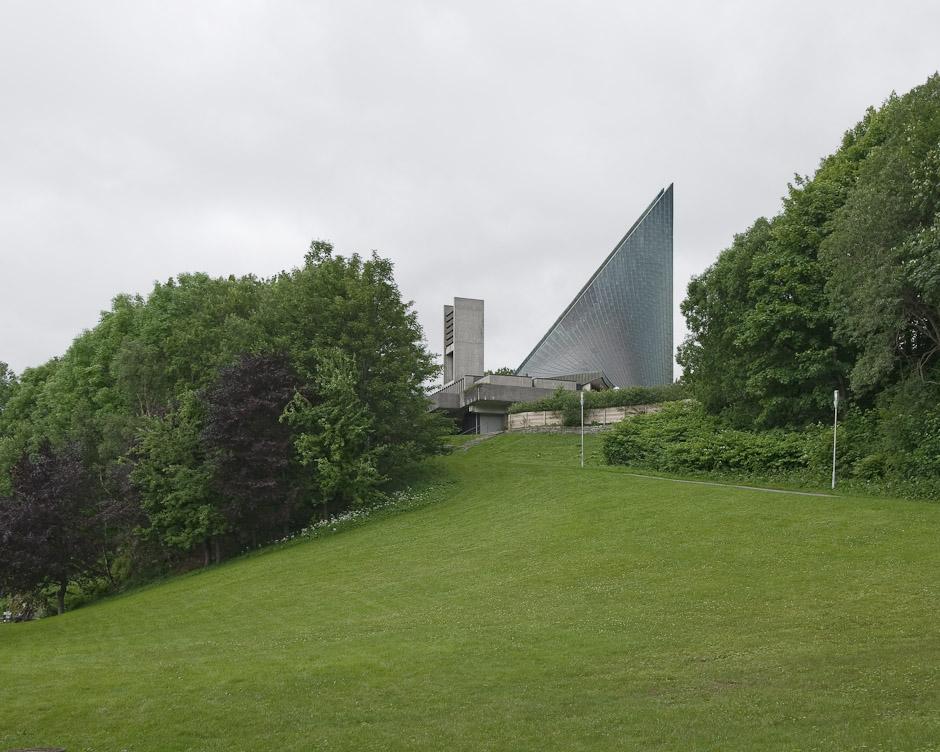 Slettebakken Church, exterior | Slettebakken kirke, eksteriør