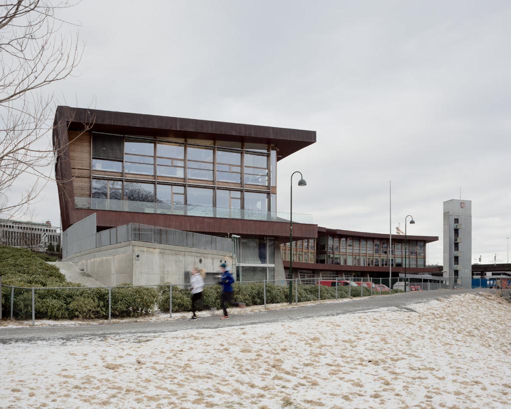 Fire Station, Bergen Norway | Bergen hovedbrannstasjon